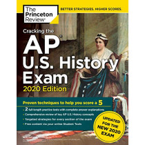Cracking the AP U.S. History Exam, 2020 Edition by Princeton Review, 9780525568391