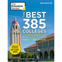 The Best 384 Colleges, 2020 Edition: In-Depth Profiles and Ranking Lists to Help Find the Right College For You by Robert Franek, 9780525568421