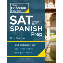 Cracking the SAT Subject Test in Spanish by Princeton Review, 9780525569015
