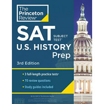 Cracking the SAT Subject Test in U.S. History by Princeton Review, 9780525569022