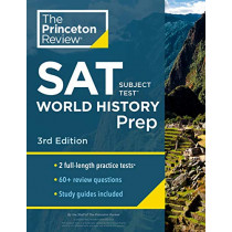 Cracking the SAT Subject Test in World History by Princeton Review, 9780525569039