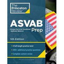 Princeton Review ASVAB Prep by Princeton Review, 9780525569244
