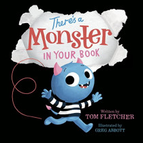 There's a Monster in Your Book by Tom Fletcher, 9780525645788