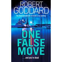 One False Move by Robert Goddard, 9780552172615