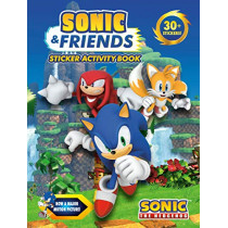 Sonic & Friends Sticker Activity Book by Penguin Young Readers Licenses, 9780593093023