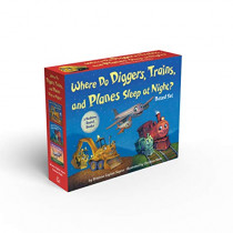 Where Do Diggers, Trains, and Planes Sleep at Night? by Brianna Caplan Sayres, 9780593119686