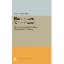Black Power/White Control: The Struggle of the Woodlawn Organization in Chicago by John Hall Fish, 9780691618869