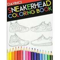 Sneakerhead Coloring book by Davinci, 9780692733189
