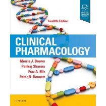 Clinical Pharmacology by Brown, 9780702073281
