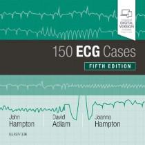 150 ECG Cases by John Hampton, 9780702074585