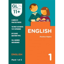 11+ Practice Papers English Pack 1 (Multiple Choice) by GL Assessment, 9780708727553