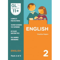 11+ Practice Papers English Pack 2 (Multiple Choice) by GL Assessment, 9780708727560