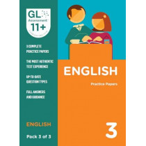 11+ Practice Papers English Pack 3 (Multiple Choice) by GL Assessment, 9780708727577