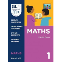 11+ Practice Papers Maths Pack 1 (Multiple Choice) by GL Assessment, 9780708727584