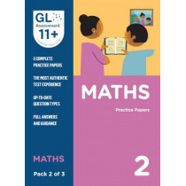 11+ Practice Papers Maths Pack 2 (Multiple Choice) by GL Assessment, 9780708727591