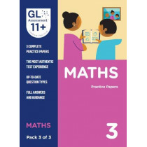 11+ Practice Papers Maths Pack 3 (Multiple Choice) by GL Assessment, 9780708727607