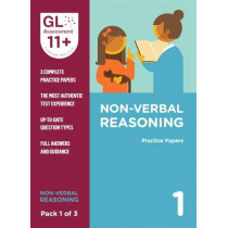 11+ Practice Papers Non-Verbal Reasoning Pack 1 (Multiple Choice) by GL Assessment, 9780708727645