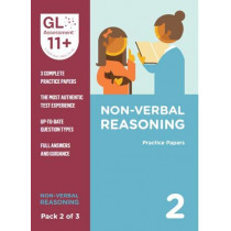 11+ Practice Papers Non-Verbal Reasoning Pack 2 (Multiple Choice) by GL Assessment, 9780708727652