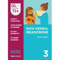 11+ Practice Papers Non-Verbal Reasoning Pack 3 (Multiple Choice) by GL Assessment, 9780708727669