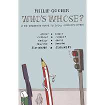 Who's Whose? by Philip Gooden, 9780713682342