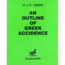 Outline of Greek Accidence by H.J.K. Usher, 9780715615430