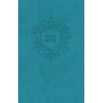 NKJV, Value Thinline Bible, Compact, Leathersoft, Blue, Red Letter Edition, Comfort Print: Holy Bible, New King James Version by Thomas Nelson, 9780718075514