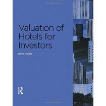 Valuation of Hotels for Investors by David Harper, 9780728205222