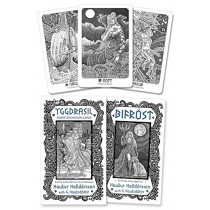 Yggdrasil: Norse Divination Cards by Haukur Halldorsson, 9780738759463