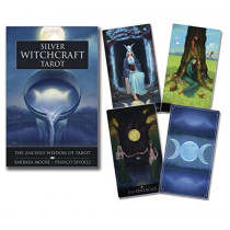 Silver Witchcraft Tarot Kit by Barbara Moore, 9780738762647