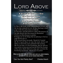 Lord Above by Charles Keech, 9780741445827