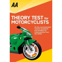 AA Theory Test for Motorcyclists by AA Publishing, 9780749579975
