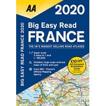 AA Big Easy Read France 2020, 9780749581374