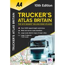 Trucker's Atlas Britain, 9780749581992