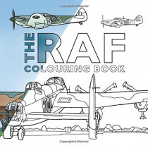 The RAF Colouring Book by The History Press, 9780750988919
