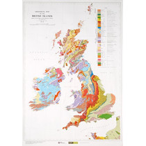 Geological Map of the British Islands, 9780751812084