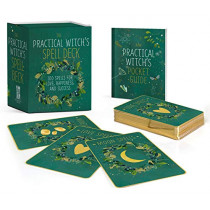 The Practical Witch's Spell Deck: 100 Spells for Love, Happiness, and Success by Cerridwen Greenleaf, 9780762495801