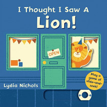 I Thought I Saw a Lion! by Templar Books, 9780763699468