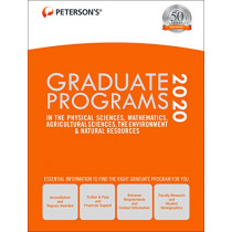 Graduate Programs in the Physical Sciences, Mathematics, Agricultural Sciences, the Environment & Natural Resources 2020 by Peterson's, 9780768943160