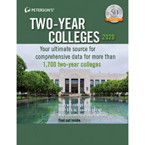 Two-Year Colleges 2020 by Peterson's, 9780768943283