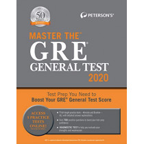 Master the GRE General Test 2020 by Peterson's, 9780768943702