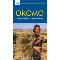Oromo-English/ English-Oromo Dictionary & Phrasebook by Mawadza, 9780781813624