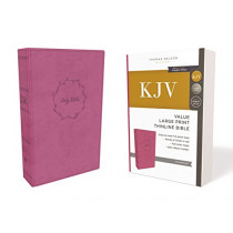 KJV, Value Thinline Bible, Large Print, Leathersoft, Pink, Red Letter Edition, Comfort Print: Holy Bible, King James Version by Thomas Nelson, 9780785225904