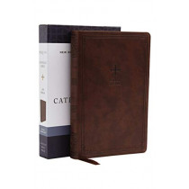 NRSV, Catholic Bible, Gift Edition, Leathersoft, Brown, Comfort Print: Holy Bible by Catholic Bible Press, 9780785230397