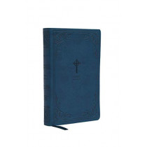 NRSV, Catholic Bible, Gift Edition, Leathersoft, Teal, Comfort Print: Holy Bible by Catholic Bible Press, 9780785230410