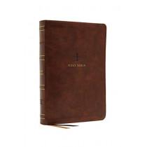 NRSV, Catholic Bible, Standard Large Print, Leathersoft, Brown, Comfort Print: Holy Bible by Catholic Bible Press, 9780785230458