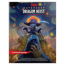 D&d Waterdeep Dragon Heist Hc by Wizards RPG Team, 9780786966257