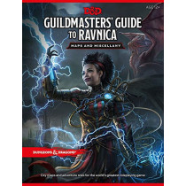 Dungeons & Dragons Guildmasters' Guide to Ravnica Maps and Miscellany (D&D/Magic: The Gathering Accessory) by Wizards RPG Team, 9780786966615