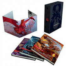 Dungeons & Dragons Core Rulebooks Gift Set (Special Foil Covers Edition with Slipcase, Player's Handbook, Dungeon Master's Guide, Monster Manual, DM Screen) by Wizards RPG Team, 9780786966622