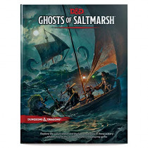 Dungeons & Dragons Ghosts of Saltmarsh Hardcover Book (D&D Adventure) by Wizards RPG Team, 9780786966752