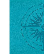 CSB Heart of God Teen Study Bible Teal, Compass Design LeatherTouch by Mark L. Strauss, 9780801016288